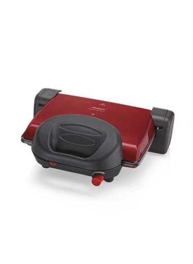 Arzum  Ar2012 Prego Granite Izgara Ve Tost Makinesi Kırmızı